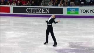Денис Тен. Чемпионат мира по фигурному катанию 2013 года