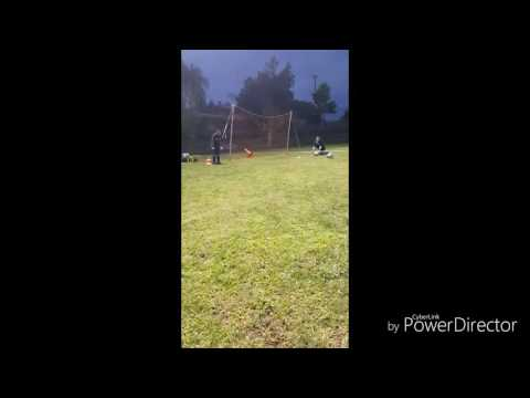 Coast Soccer League 2016 : Anthony Rojas 6 yr old goal keeper @ Riverside FC practice