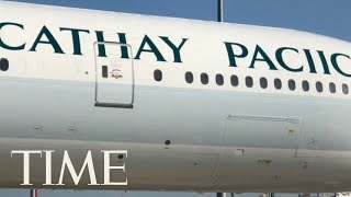 Cathay Pacific Misspelled Its Own Name On The Side Of An Airplane | TIME