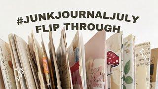 Journal Flip Through #JunkJournalJuly Days 15 - 21 🌟 Week Three