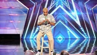 Junior Haha On Americas Got Talent | Cactus Eating!!! Season 9 Ep. 5