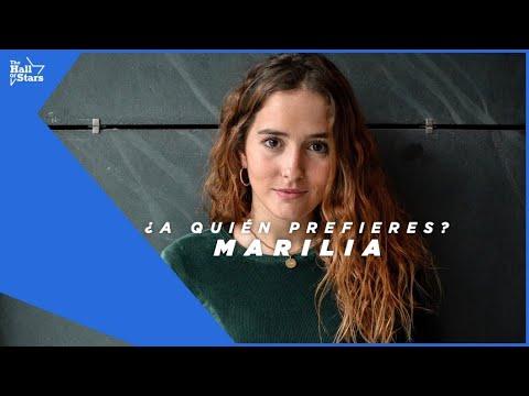 Jugamos con MARILIA (OT 2018) a '¿A QUIÉN PREFIERES?' | The Hall Of Stars