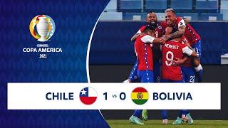 HIGHLIGHTS CHILE 1 - 0 BOLIVIA | COPA AMÉRICA 2021 | 18-06-21
