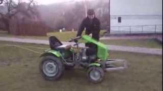 traktorek  SAM WSK 125