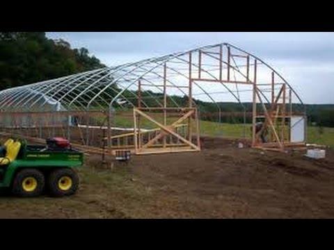 How to make a pvc greenhouse cheap