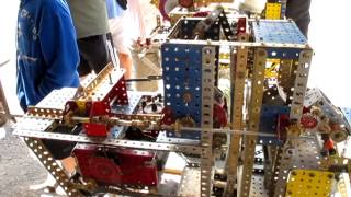 Amazing Erector Set Model Saw Mill 1