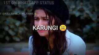 SAAF SIDHA DASDE MAINU ||ATTITUDE BOYS STATUS 2019 ||NIkk Feat.Avneet kaur