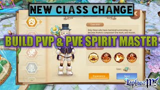 New Class Change,  Review New Class Spirit Master & Build Skill [Laplace M / Tales of Wind]