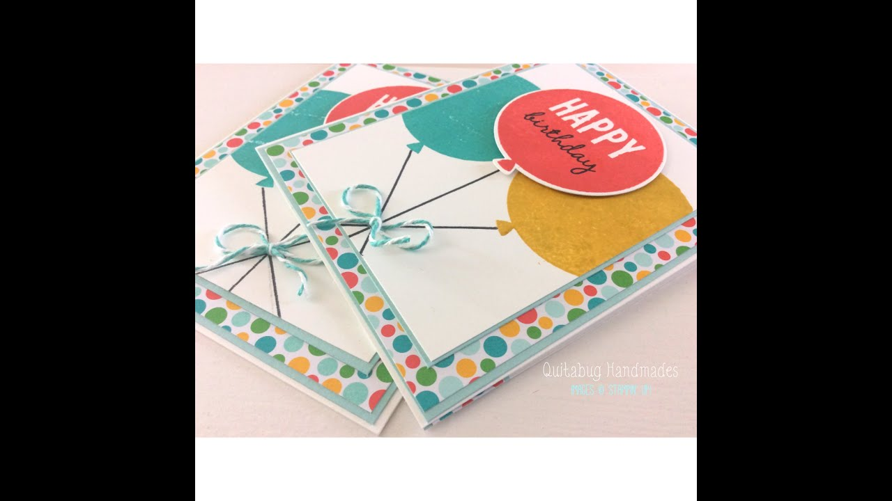 Stampin' Up! Celebrate Today Happy Birthday Card