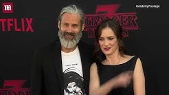 Winona Ryder and Scott at Stranger Things Season 3 premiere