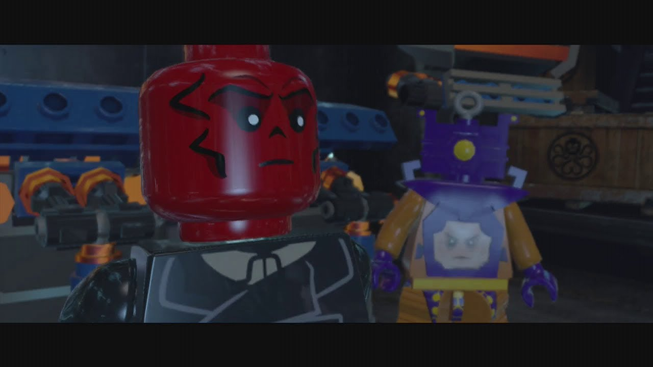 marvel lego red skull walkthrough