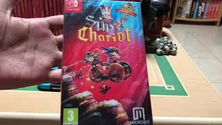 Super Chariot (Royal Gadget Pack) for Nintendo Switch Unboxing!