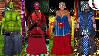 All the Mods of Granny ► by Abegi Jo ► HULK ( Superheroes ) ►  The evolution №19