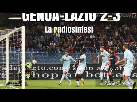 Genoa-Lazio 2-3 la radiosintesi