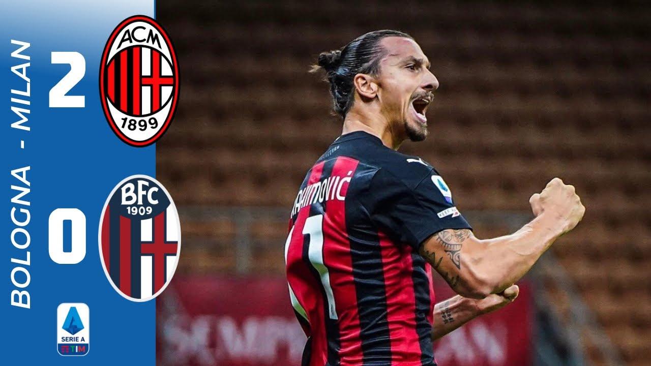 MILAN-BOLOGNA 2-0 | IBRAEIDE!!!!! - YouTube