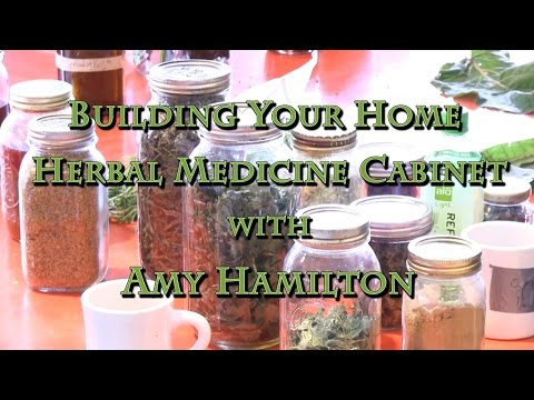 Building Your Home Herbal Medicine Cabinet