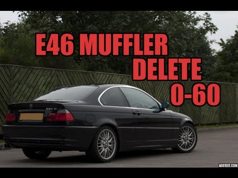 E46 Muffler Delete BMW 330i In Car Interior Sound 0 60