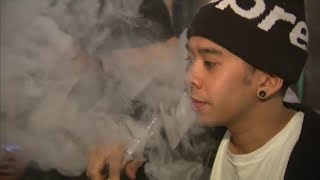 Health dept warns against vaping-related lung diseases