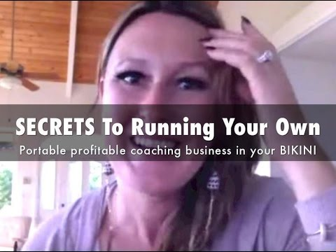 SECRETS to running your own portable profitable coaching business in your BIKINI