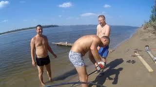 Отдых и рыбалка в Астрахани, 2017 год  Часть 1