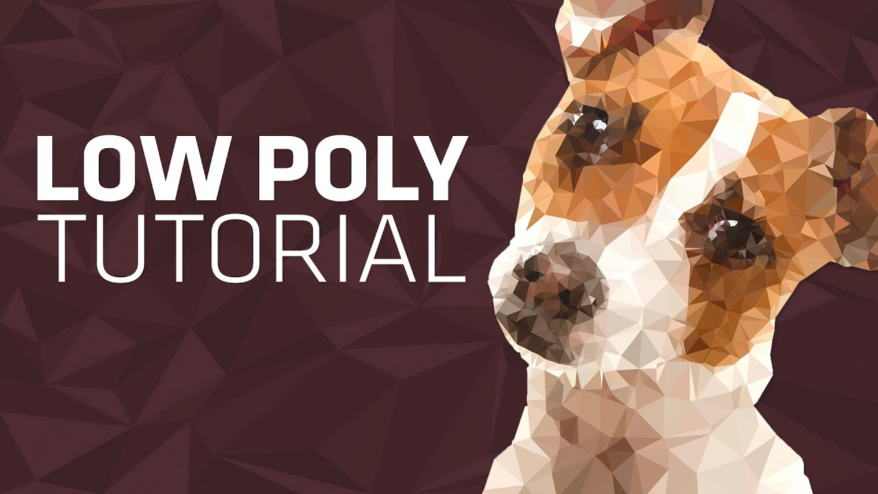 How to create low poly art without photoshop youtube for How to make creative drawings