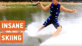 Insane Barefoot Water Skiing Freestyle | Walking on Water