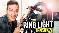 Ring Light for YouTube Videos Review — Video Lighting Tips