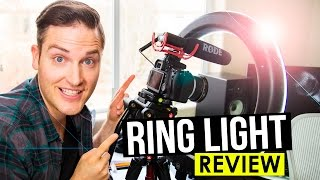 Ring Light for YouTube Videos Review — Video Lighting Tips