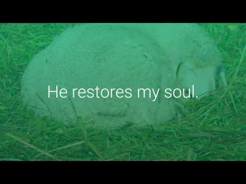 Psalm 23 - Living and Active Word