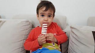 Berat Algida Twister Dondurma Aldı Buğra İle Paylaştı