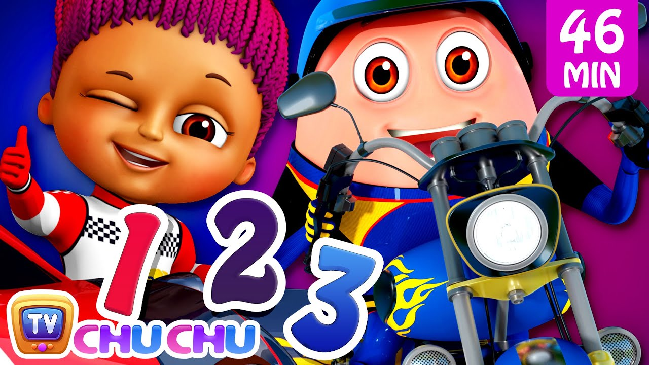 Ten Little SuperCars & SuperBikes + More Funzone Nursery Rhymes & Songs for Kids by ChuChu TV