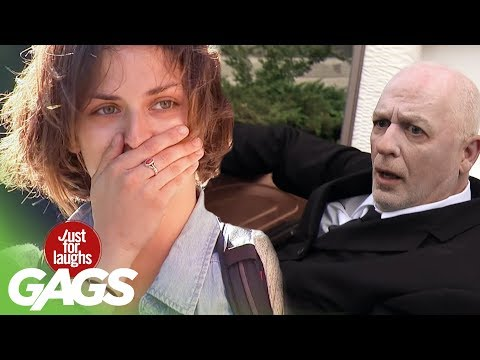 Man Comes Back to Life at his Funeral - Just For Laughs Gags