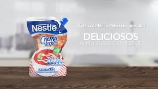 Deliciosos almuerzos cremosos | Crema de Leche NESTLÉ®