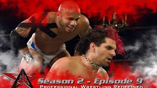 aaw pro wrestling season 2 episode 9 jimmy jacobs vs matt cage