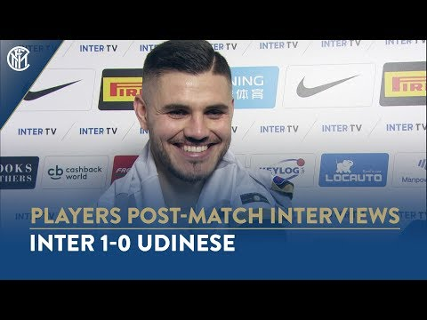 INTER 1-0 UDINESE | MAURO ICARDI INTERVIEW: We had to send a message