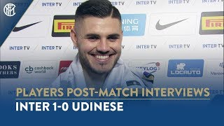 "INTER 1-0 UDINESE | MAURO ICARDI INTERVIEW: ""We had to send a message"""