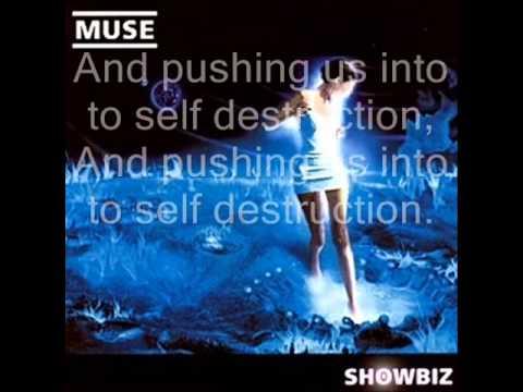 Muse Showbiz Lyrics