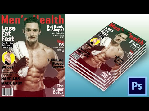 Easy Magazine Cover Design In Photoshop | Webtrickshome