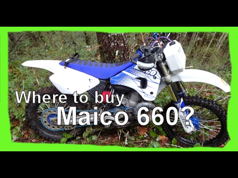 Dirtbike VLOG: S1 E14 Where can I get a Maico 660?