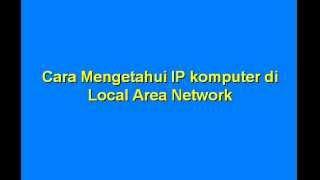 Download Video cara mengetahui IP di LAN MP3 3GP MP4