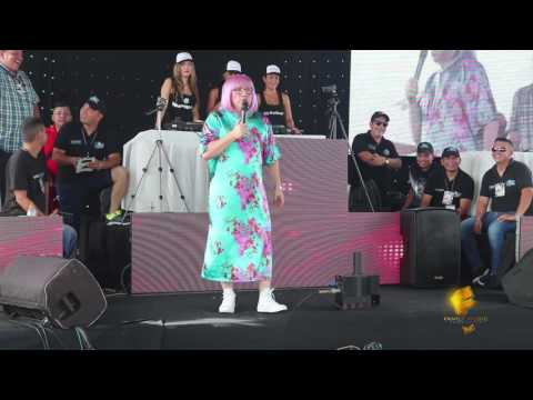 show LA VECINA en el  DJ FEST GQUIL 12 Marzo 2017