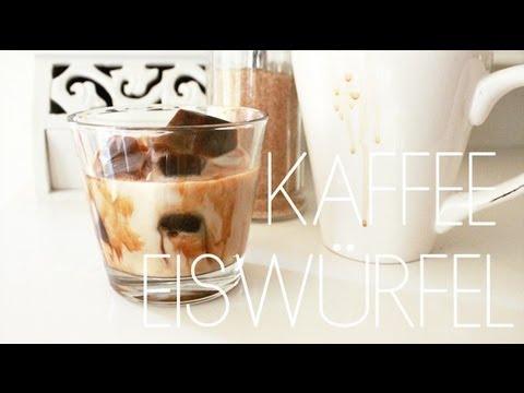 kaffee eiswürfel