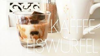 DIY: Kaffee-Eiswürfel / Coffee Ice Cubes
