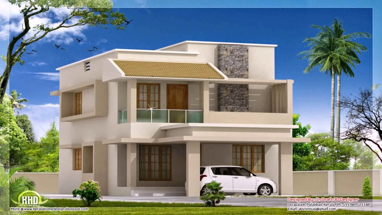 Simple house design philippines 2 storey youtube for Home floor plans with estimated cost to build