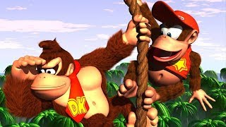 VIKINGSTREAM | DONKEY KONG COUNTRY SPEEDRUN TREINO