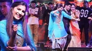 सपना चौधरी का शादी फंक्शन में जबरदस्त ठुमका दूल्हा दुल्हन भी नाचे | Sapna Udaipur Dance 2020