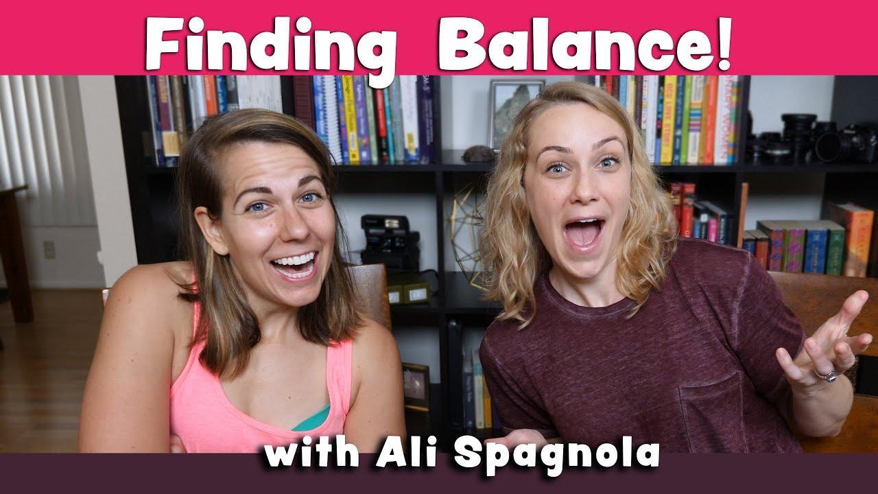 29a62586f493 How to Find Balance w  Ali Spagnola. Kati Morton