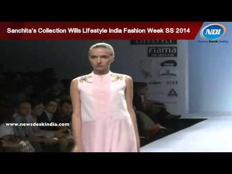 Sanchita's Collection at Wills Lifestyle India Fashion Week Spring Summer 2014