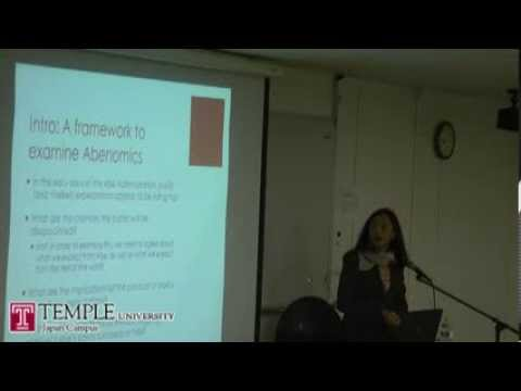 Public Lecture Video (11.29.2013): Naomi Fink - Abenomics and the Japanese wealth gap