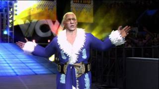 SvR 2011 Ric Flair Caw